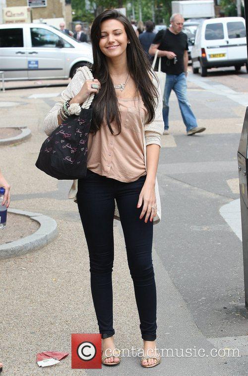 Michelle Keegan at the ITV Studios London, England...