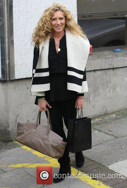 Kelly Hoppen Celebrities at the ITV studios London,...