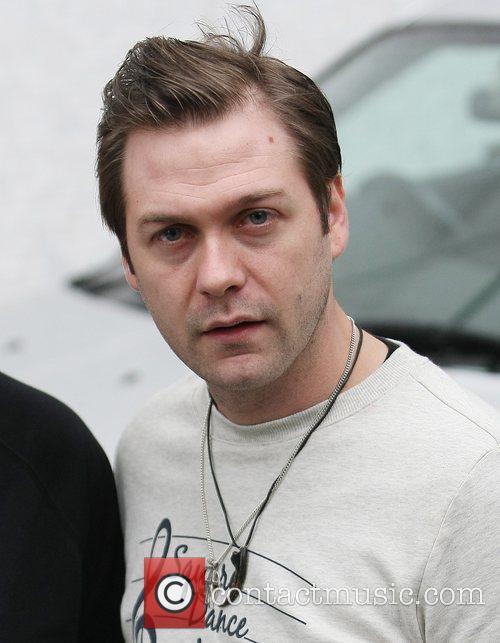 Tom Meighan Celebrities at the ITV studios London,...