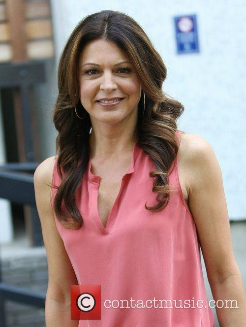 Jane Leeves at the ITV studios London, England