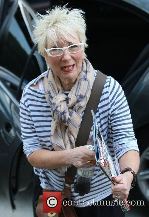 Jenny Eclair at the ITV studios London, England