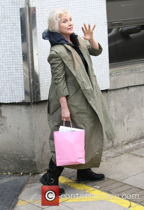 Debbie Harry leaves the ITV studios London, England