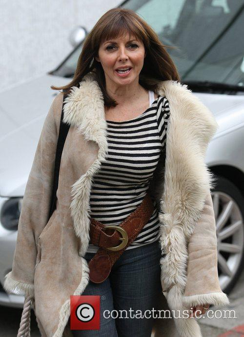 Carol Vorderman outside the ITV studios  London,...