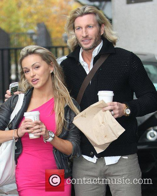 ola jordan and robbie savage at the 3589942