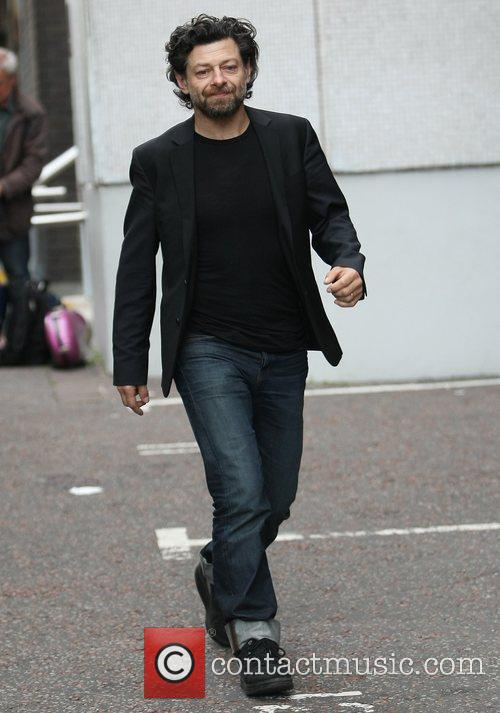 Andy Serkis outside the ITV studios London, England