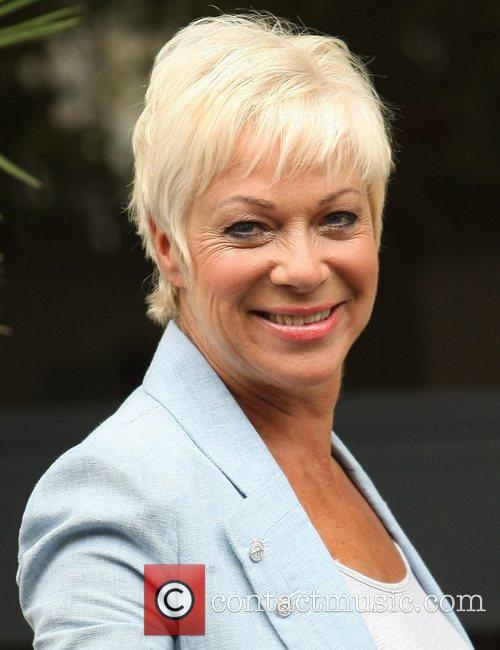Denise Welch  outside the ITV studios London,...