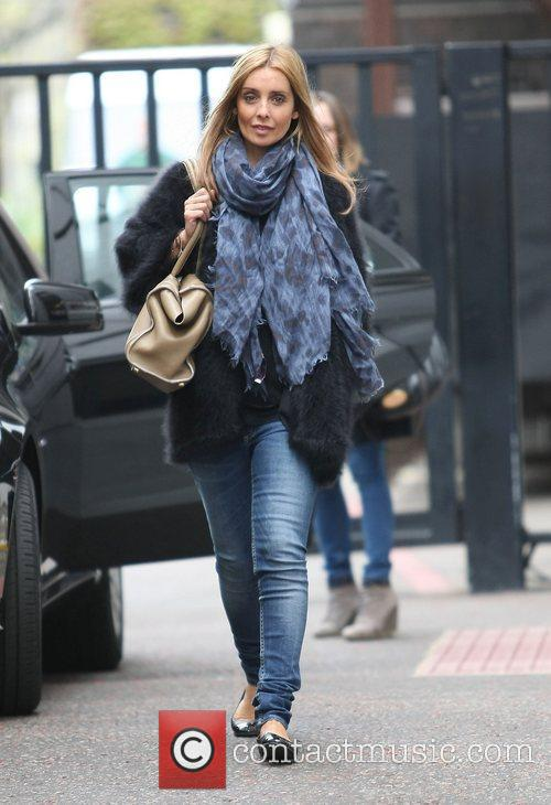 Louise Redknapp at the ITV studos London, England