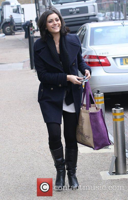 Lucy Verasamy Celebrities outside the ITV studios London,...