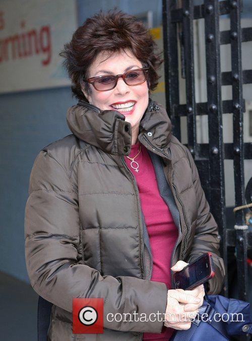 Ruby Wax Celebrities outside the ITV studios London,...