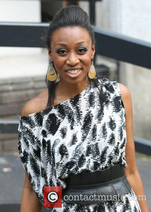 Beverley Knight Celebrities outside the ITV television studios...