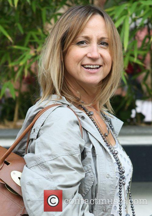 Carol McGiffin Celebrities outside the ITV television studios...