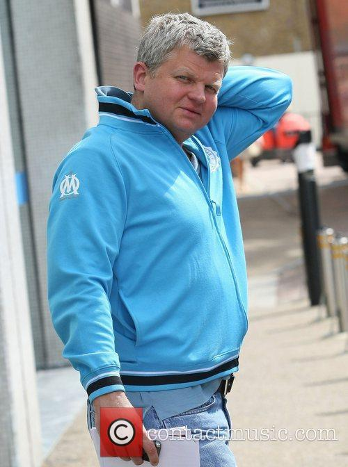 Adrian Chiles at the ITV studios London, England