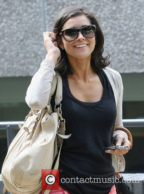 Lucy Verasamy at the ITV studios London, England