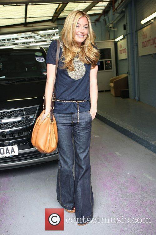 Cat Deeley at the ITV studios London, England