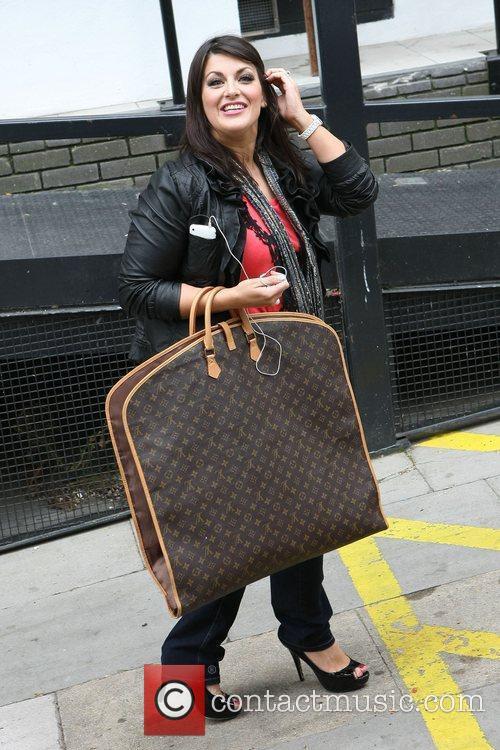 Jody Prenger outside the ITV studios  London,...