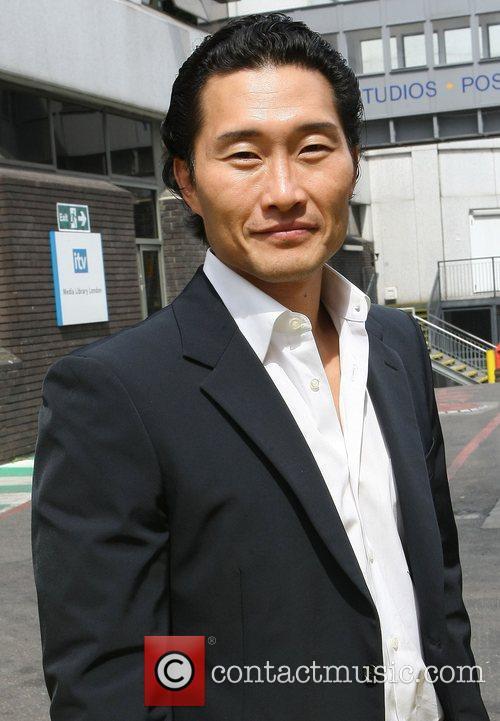 Daniel Dae Kim at the ITV studios London,...