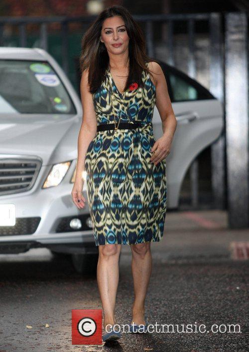 Laila Rouass at the ITV studios London, England