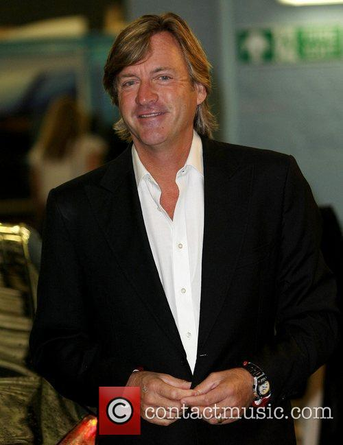 Richard Madeley at the ITV studios London, England