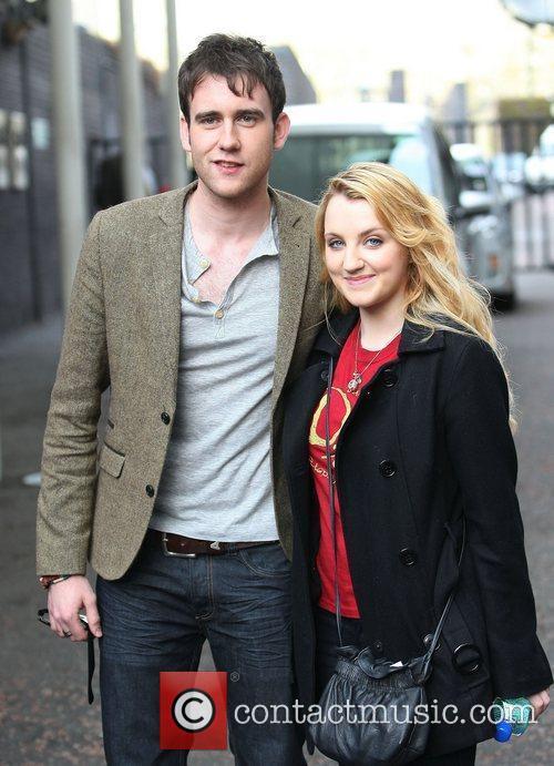 Matthew Lewis and Evanna Lynch 5