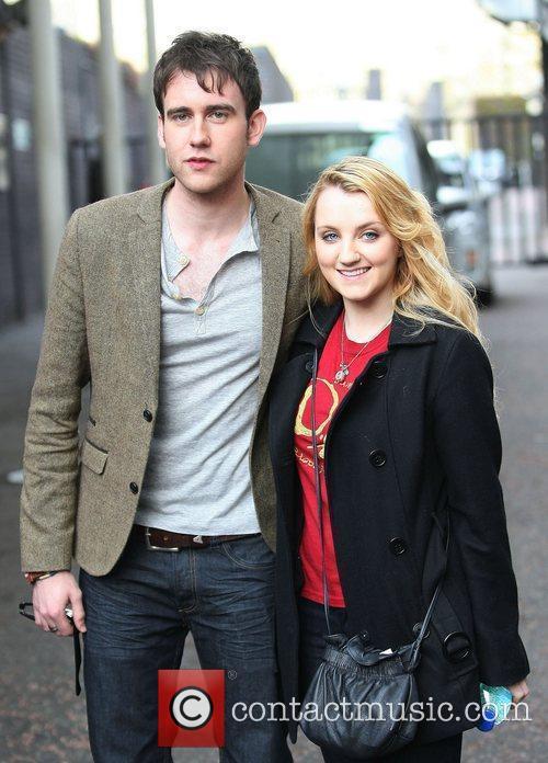 Matthew Lewis and Evanna Lynch 4