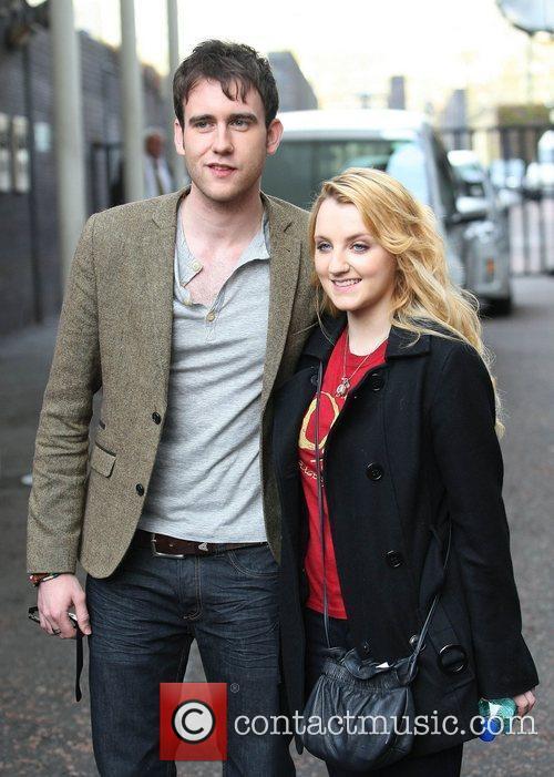 Matthew Lewis and Evanna Lynch 3