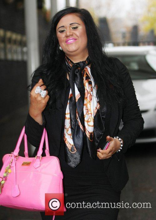 Lucy Texeria of 2 Shoes at the ITV...