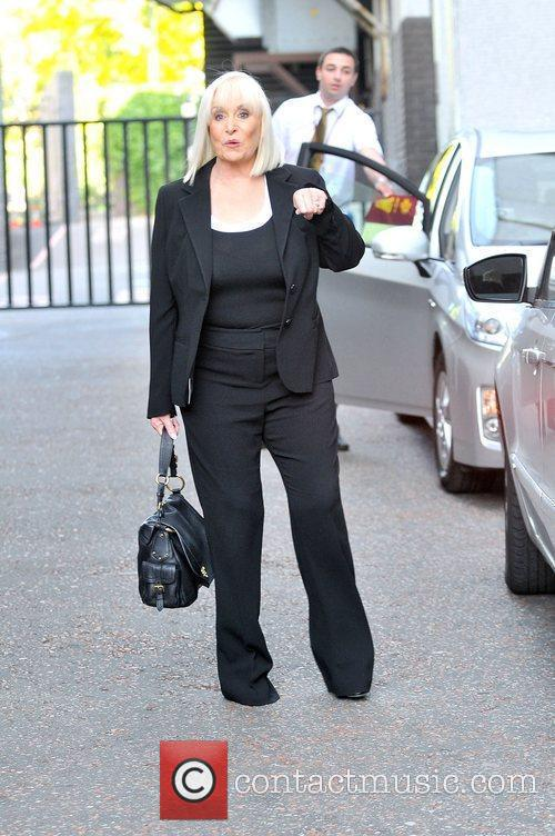 Thelma Madine at the ITV studios London, England