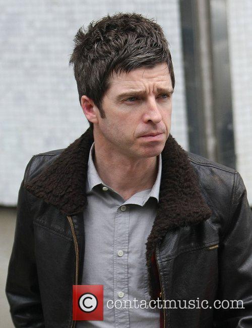 Noel Gallagher outside the ITV studios London, England