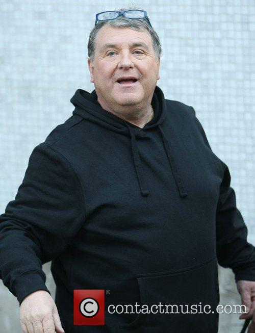 Russell Grant outside the ITV studios London, England
