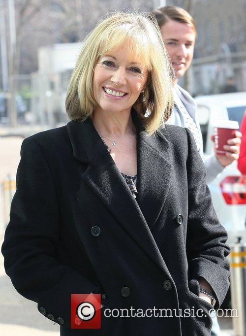 Karen Barber Celebrities outside the ITV television studios...