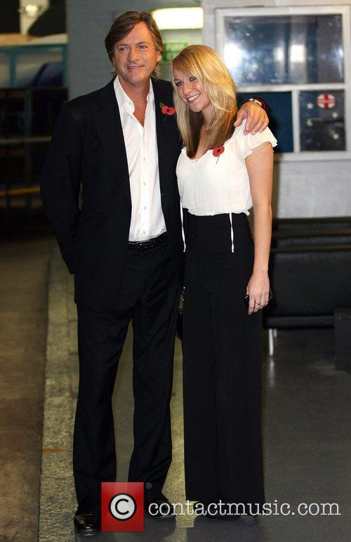 Richard Madeley and his daughter Chloe Madeley outside...