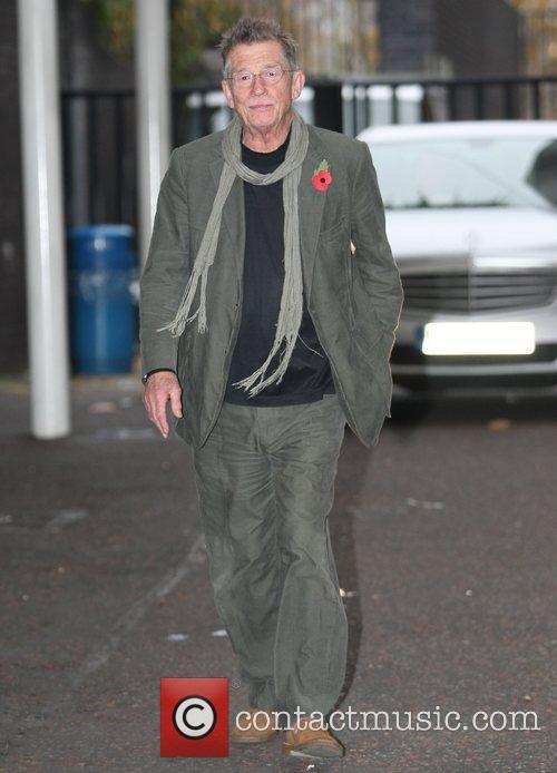 John Hurt at the ITV studios London, England