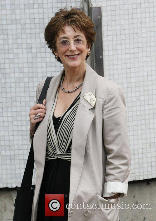 Maureen Lipman Celebrities outside the ITV television studios...