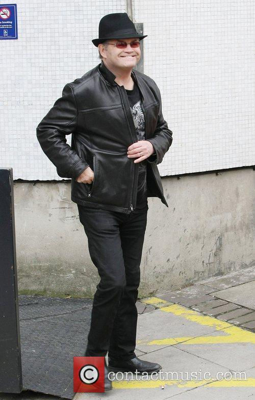 Micky Dolenz Celebrities outside the ITV television studios...