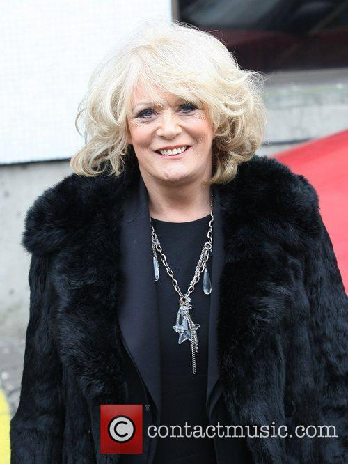 Sherrie Hewson Celebrities outside the ITV television studios...