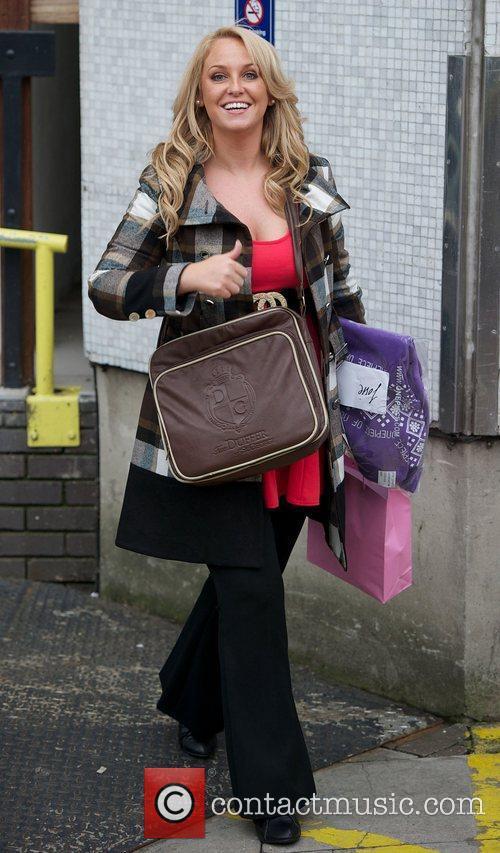 Josie Gibson at the ITV studios London, England