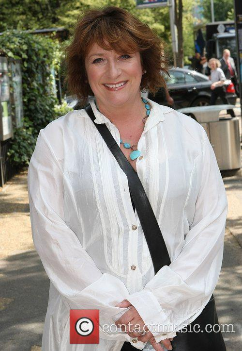 Caroline Quentin at the ITV studios London, England