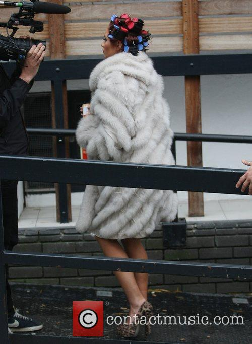 Amy Childs at the ITV studios London, England