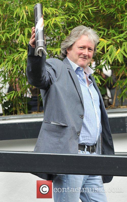 Charles Lawson at the ITV studios London, England