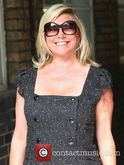 Amanda Redman Celebrities outside the ITV television studios...