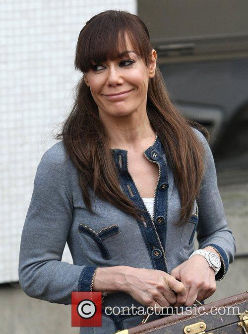 Tara Palmer-Tomkinson at the ITV studios London, England