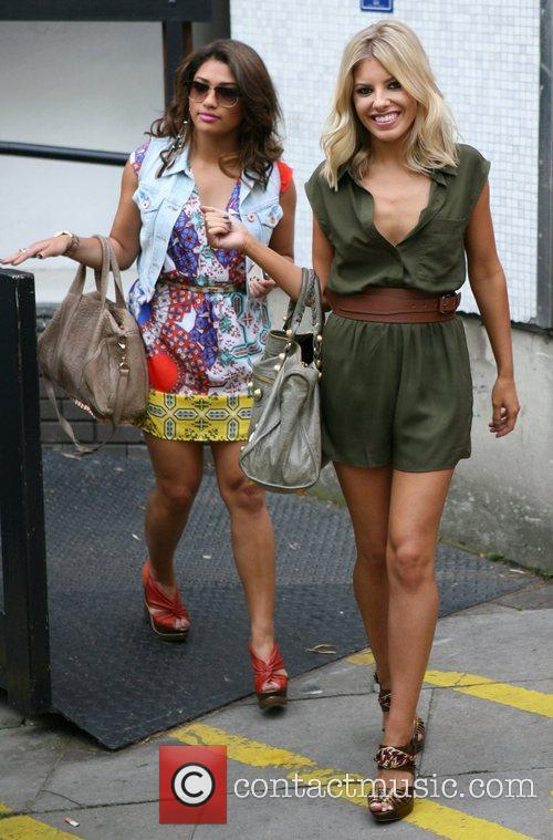 Vanessa White, Mollie King and The Saturdays 3