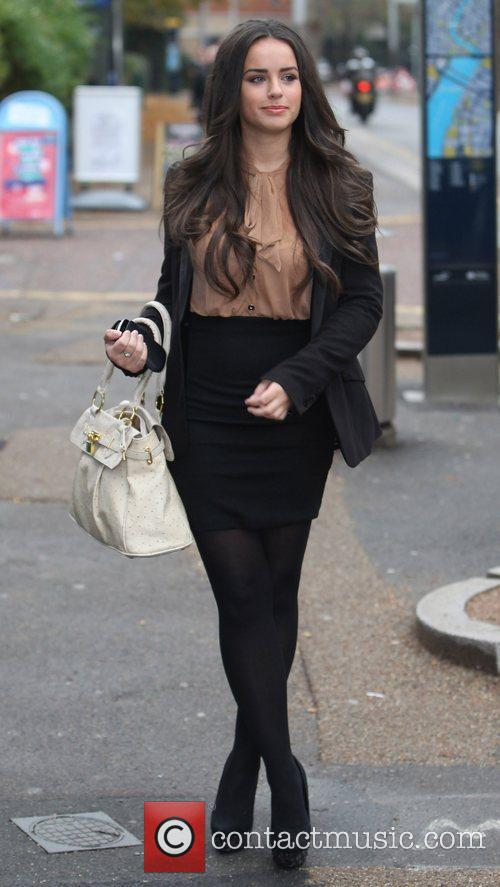 georgia-may-foote-outside-the-itv-studio