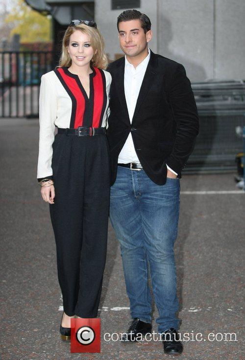 Lydia Bright and James Argent at the ITV...