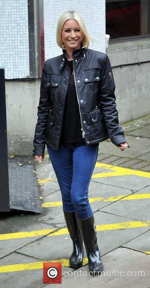Denise van Outen at the ITV studios London,...