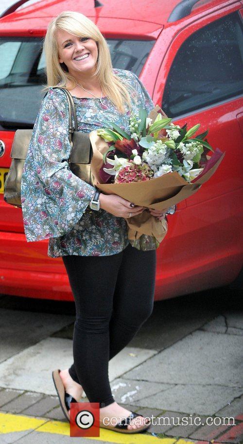 Sally Lindsay at the ITV studios London, England