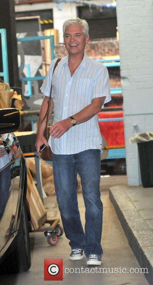 Phillip Schofield Celebrities outside the ITV studios...