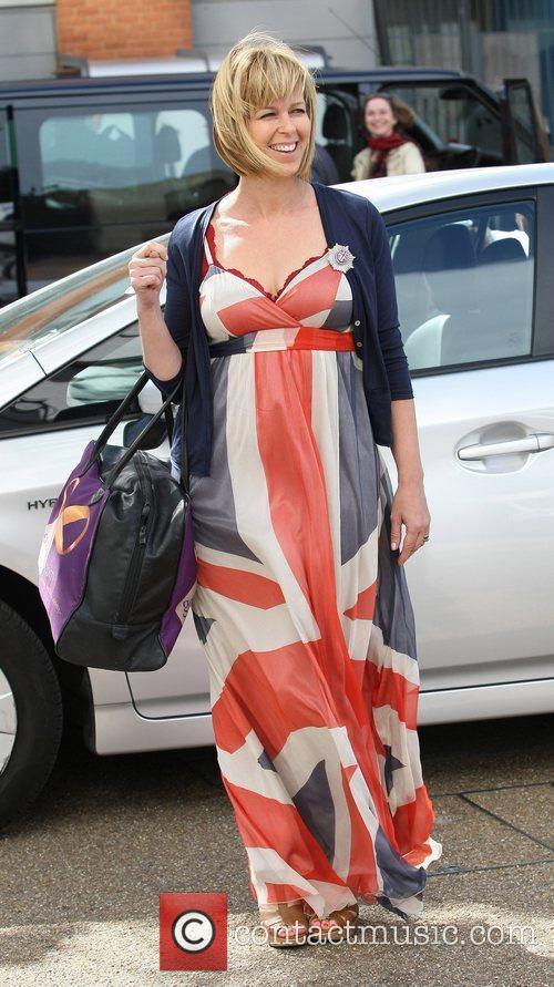 Kate Garraway gets into the Royal Wedding spirit...