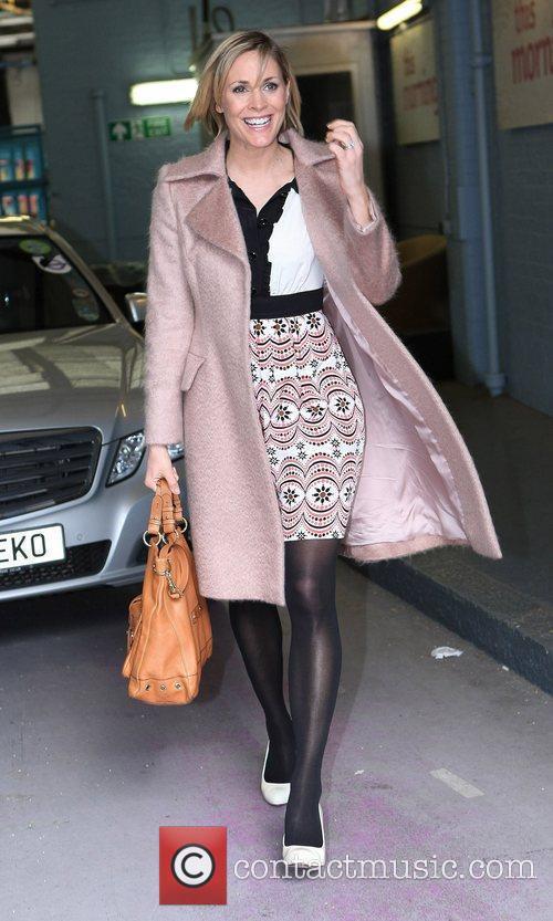 Jenni Falconer outside the ITV studios  London,...