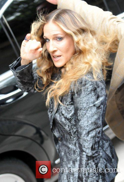 Sarah Jessica Parker Celebrities arriving at the ITV...